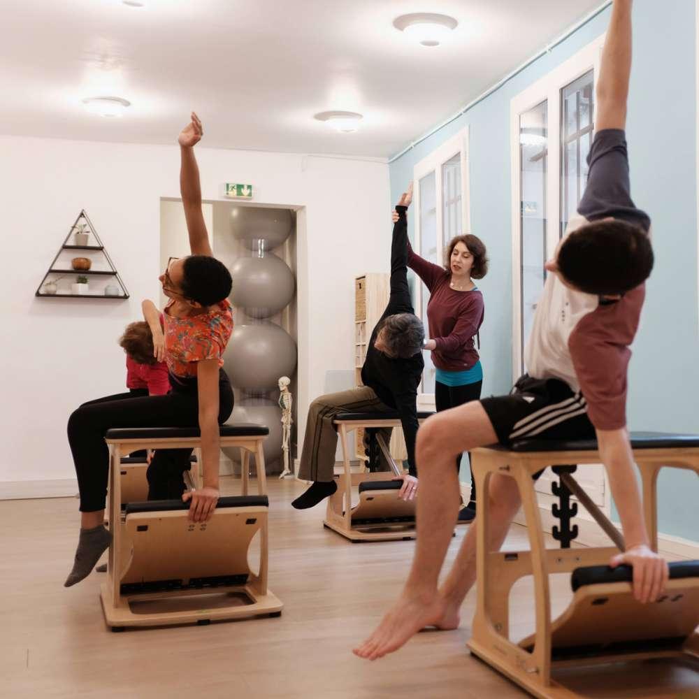 Equipement de Pilates chaise