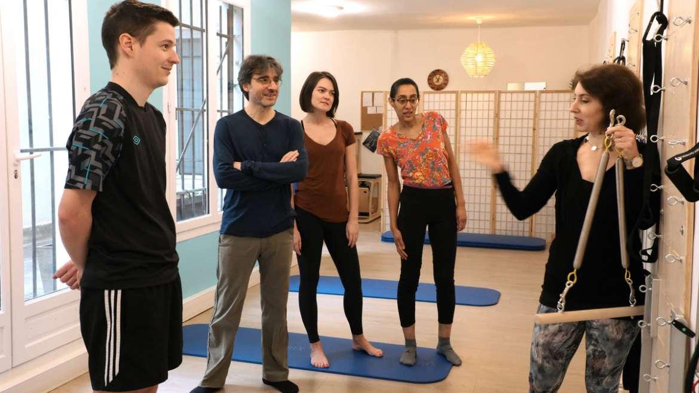 Exercices à la maison : Footwork debout