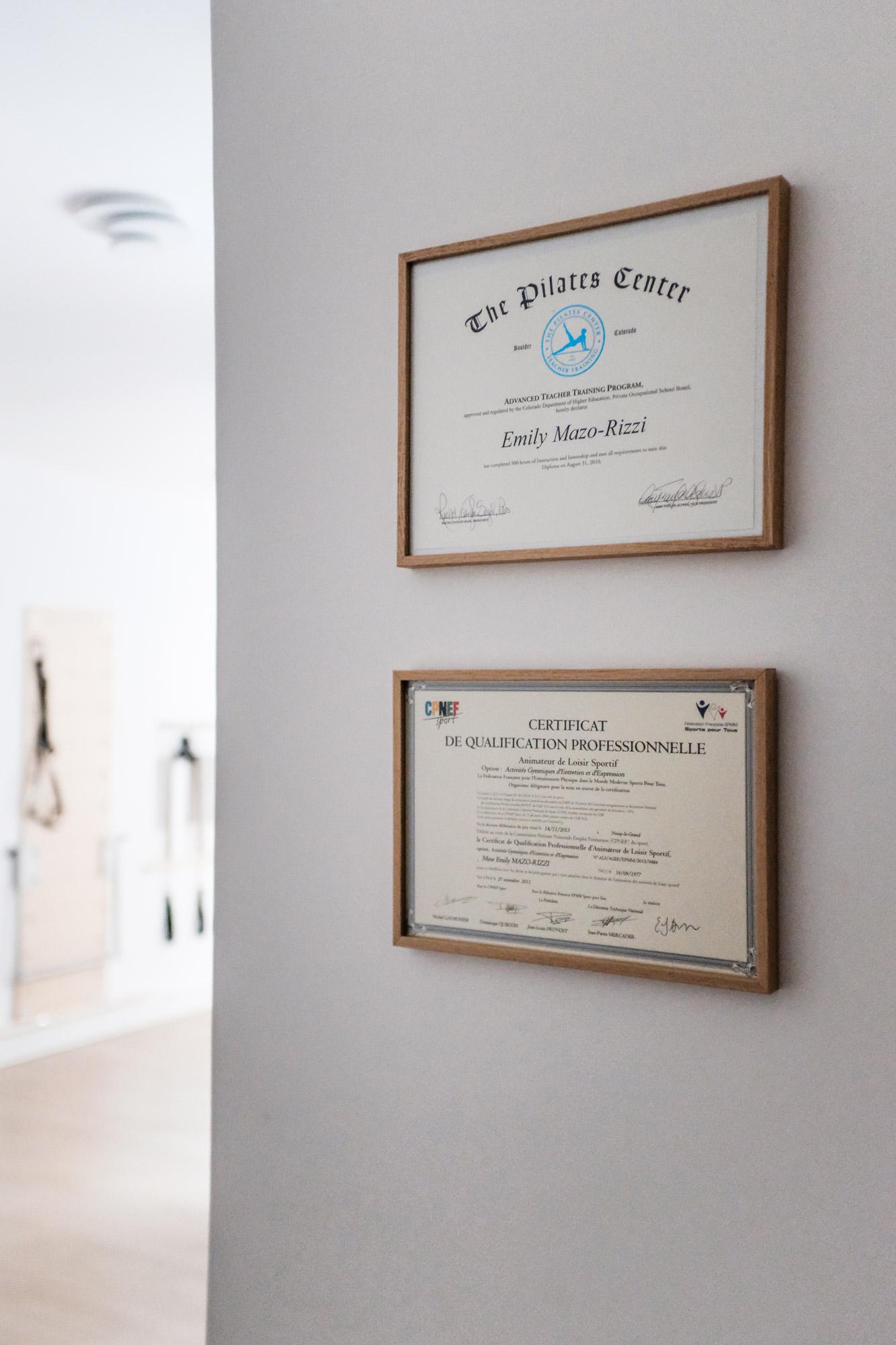 Prof diplômée de Pilates à Paris cours particuliers