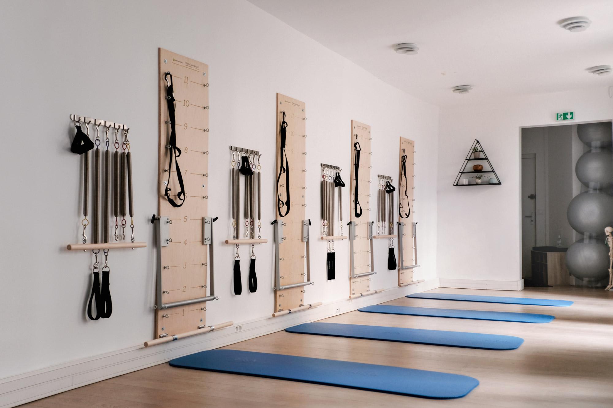 Studio Pilates avec Wall-unit et machine Paris