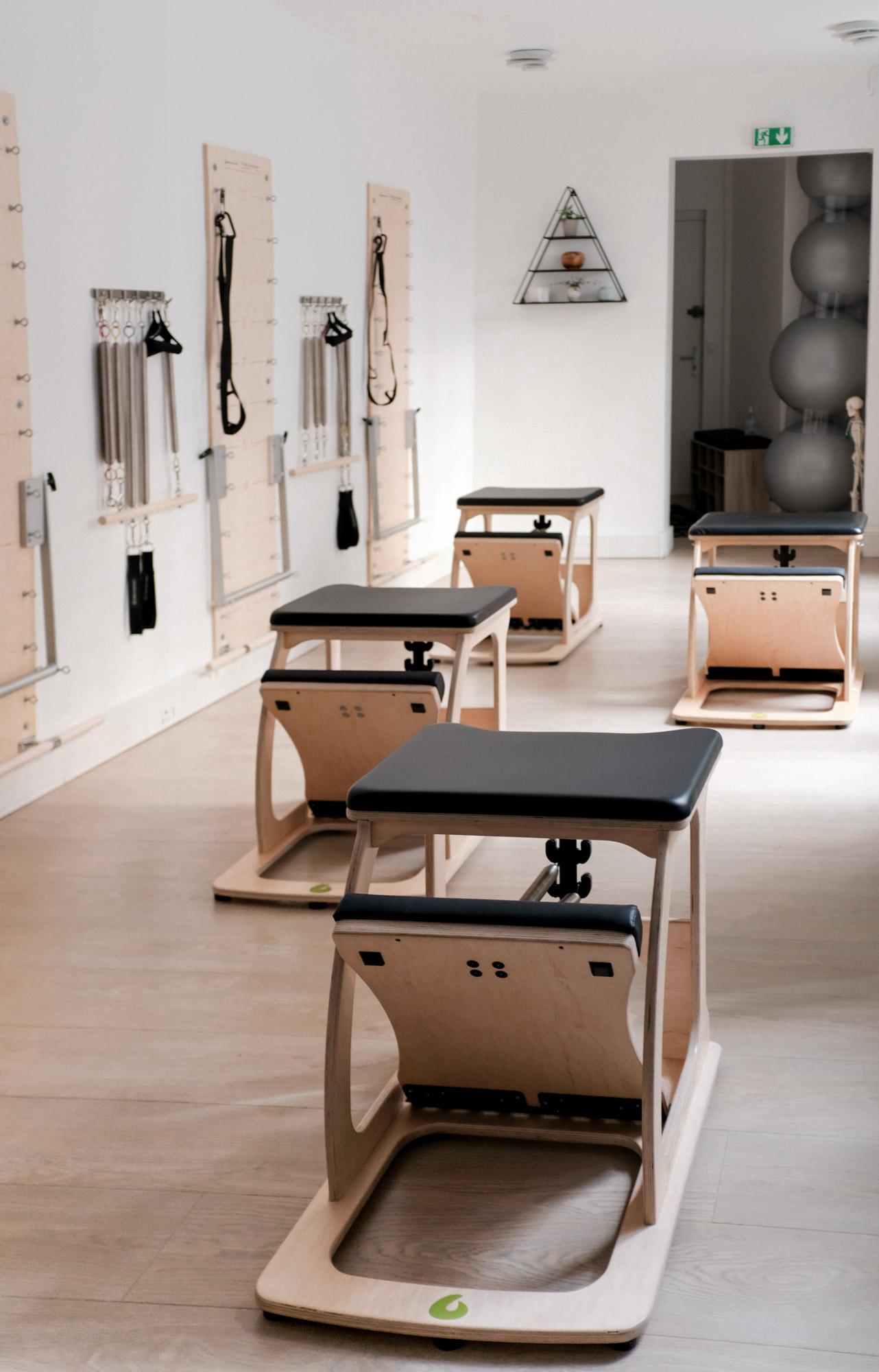 Studio de Pilates équipé de machines à Paris