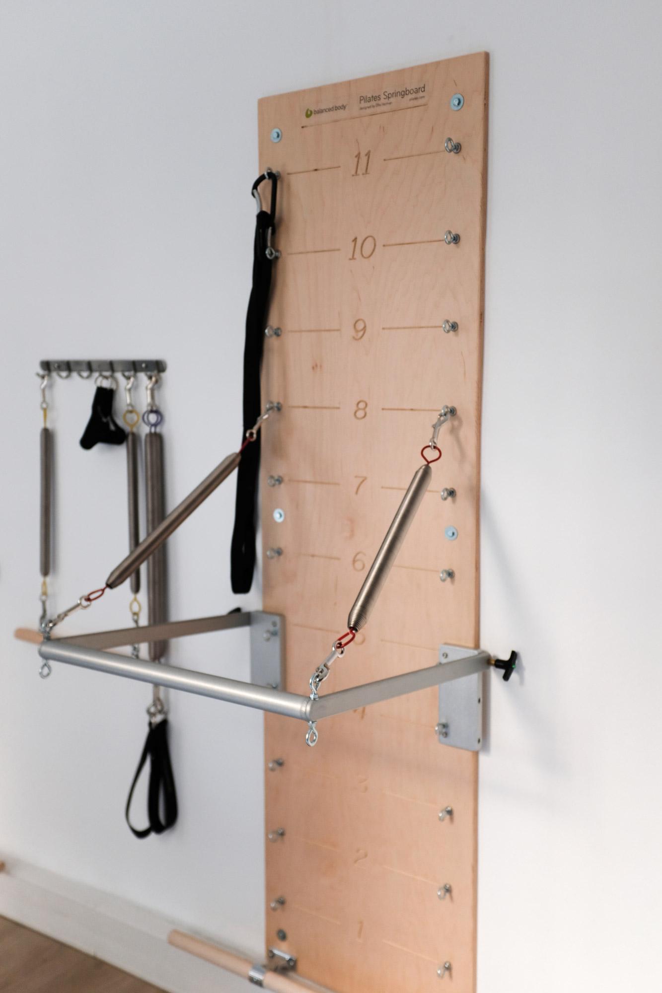Studio Pilates de la tête aux pieds machine cours