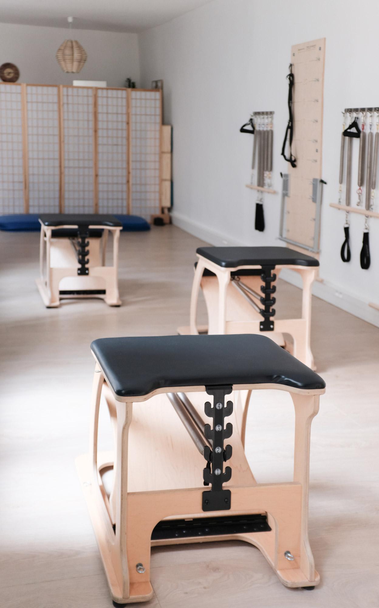 Studio Pilates de la tête aux pieds à Paris